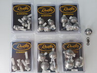 Removable Sinkers as 4 x pack per size (3oz x 3)